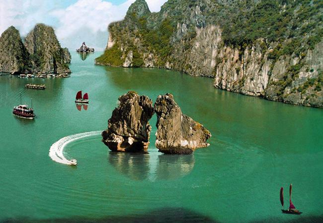 Vẻ đẹp vịnh Hạ Long