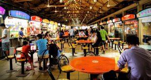 Trung tâm ăn uống Maxwell Singapore