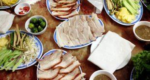 Bánh tráng thịt heo dễ làm, dễ ăn