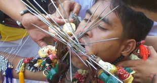 Lễ hội ăn chay Phuket ở Thái Lan