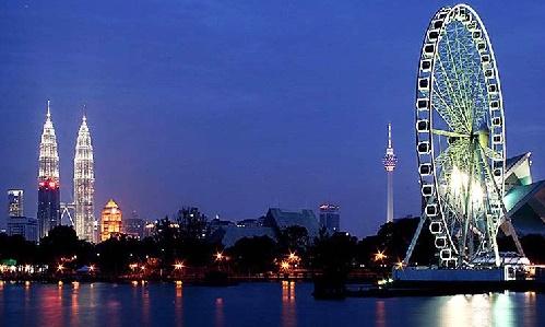 Sắc đêm lộng lẫy của Singapore