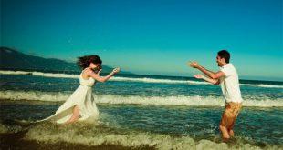 Những bãi biển Đà Nẵng thu hút những cặp đôi yêu nhau