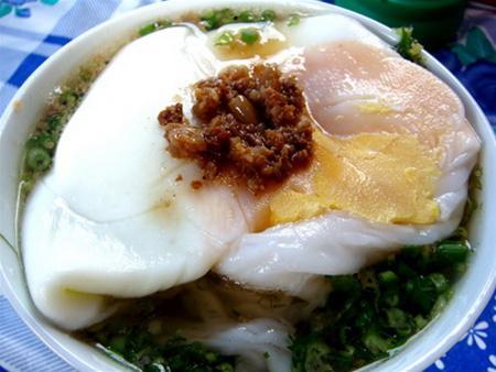 Bánh cuốn trứng Hà Giang ngon hấp dẫn