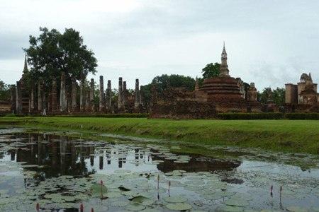 Cố đô Sukhothai bình yên và cổ kính