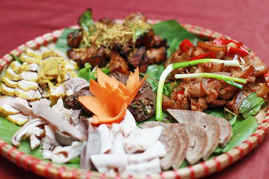 Các món ăn từ lợn mán