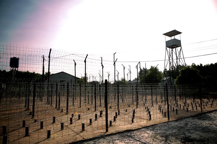 Khu trại giam rộng lớn