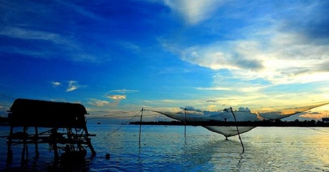 Vẻ đẹp mộc mạc của biển Bảo Ninh